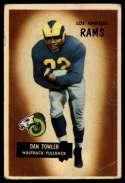 1955 Bowman #47 Dan Towler VG Very Good