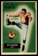 1955 Bowman #68 Ben Agajanian EX Excellent RC Rookie