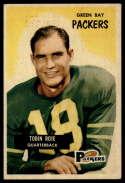 1955 Bowman #74 Tobin Rote EX Excellent