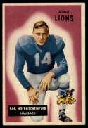 1955 Bowman #84 Bob Hoernschemeyer VG/EX Very Good/Excellent