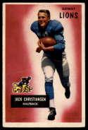 1955 Bowman #28 Jack Christiansen VG Very Good