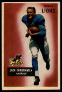 1955 Bowman #28 Jack Christiansen VG/EX Very Good/Excellent