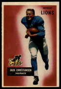 1955 Bowman #28 Jack Christiansen EX Excellent