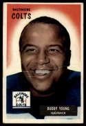 1955 Bowman #65 Buddy Young G/VG Good/Very Good
