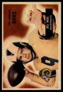 1955 Bowman #78 Bill Wade VG/EX Very Good/Excellent
