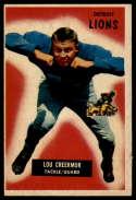 1955 Bowman #112 Lou Creekmur VG/EX Very Good/Excellent