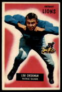 1955 Bowman #112 Lou Creekmur VG Very Good