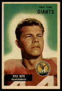 1955 Bowman #137 Kyle Rote VG Very Good