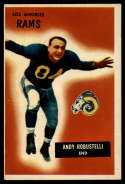 1955 Bowman #121 Andy Robustelli VG/EX Very Good/Excellent