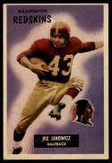 1955 Bowman #133 Vic Janowicz EX Excellent