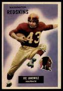 1955 Bowman #133 Vic Janowicz EX++ Excellent++