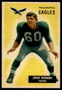 1955 Bowman #158 Chuck Bednarik EX/NM
