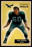 1955 Bowman #158 Chuck Bednarik EX Excellent
