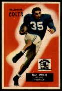 1955 Bowman #8 Alan Ameche EX++ Excellent++ RC Rookie