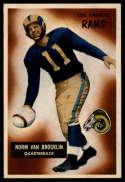 1955 Bowman #32 Norm Van Brocklin EX/NM