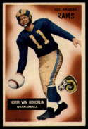 1955 Bowman #32 Norm Van Brocklin VG/EX Very Good/Excellent