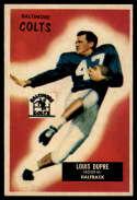1955 Bowman #160 L.G. Dupre VG/EX Very Good/Excellent RC Rookie