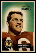 1955 Bowman #7 Frank Gifford VG Very Good