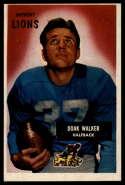 1955 Bowman #1 Doak Walker VG/EX Very Good/Excellent