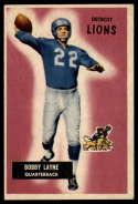 1955 Bowman #71 Bobby Layne VG Very Good