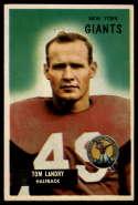 1955 Bowman #152 Tom Landry G Good