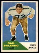 1960 Fleer #6 Sam Salerno EX Excellent