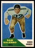 1960 Fleer #6 Sam Salerno VG Very Good
