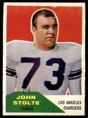 1960 Fleer #14 John Stolte NM Near Mint
