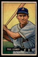 1951 Bowman #8 Paul Lehner EX/NM