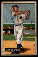 1951 Bowman #9 Sam Chapman VG Very Good