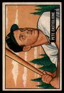 1951 Bowman #17 Pete Castiglione EX Excellent