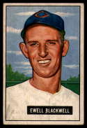 1951 Bowman #24 Ewell Blackwell EX Excellent