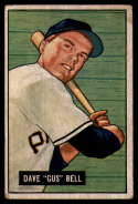 1951 Bowman #40 Dave Bell VG Very Good RC Rookie
