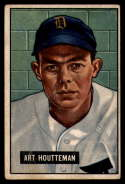 1951 Bowman #45 Art Houtteman VG Very Good