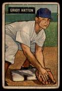 1951 Bowman #47 Grady Hatton G Good