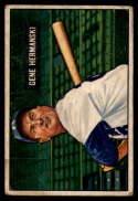 1951 Bowman #55 Gene Hermanski VG Very Good