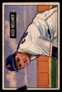 1951 Bowman #57 Alex Kellner G Good