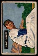 1951 Bowman #69 Johnny Schmitz G/VG Good/Very Good