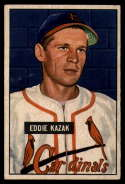1951 Bowman #85 Eddie Kazak VG Very Good