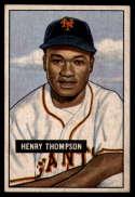 1951 Bowman #89 Hank Thompson EX/NM