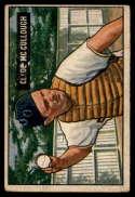1951 Bowman #94 Clyde McCullough VG Very Good
