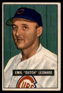 1951 Bowman #102 Dutch Leonard VG Very Good