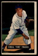 1951 Bowman #104 Virgil Trucks VG Very Good