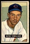 1951 Bowman #175 Wayne Terwilliger EX/NM