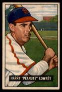 1951 Bowman #194 Peanuts Lowrey P Poor