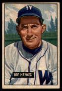 1951 Bowman #240 Joe Haynes G Good
