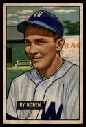 1951 Bowman #241 Irv Noren G Good