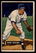 1951 Bowman #250 Hank Borowy G Good
