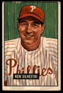 1951 Bowman #256 Ken Silvestri VG Very Good RC Rookie