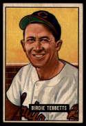 1951 Bowman #257 Birdie Tebbetts G Good RC Rookie